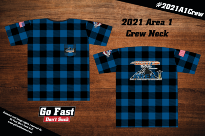 Berry's Bullets 2021 Area 1 Championship - Match Crew Neck Jersey