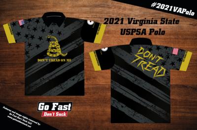 2021 Virginia State USPSA Championship - Match Polo Jersey