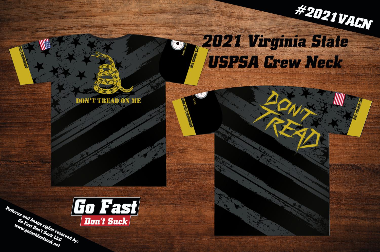 2021 Virginia State USPSA Championship - Match Crew Neck Jersey