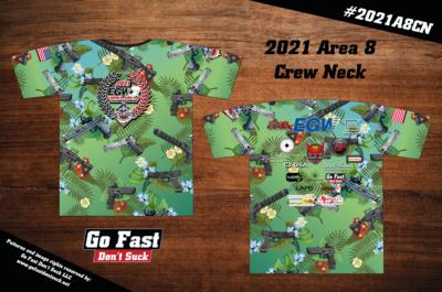 2021 EGW USPSA Area 8 Championship - Match Crew Neck Jersey