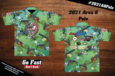 2021 EGW USPSA Area 8 Championship - Match Polo Jersey