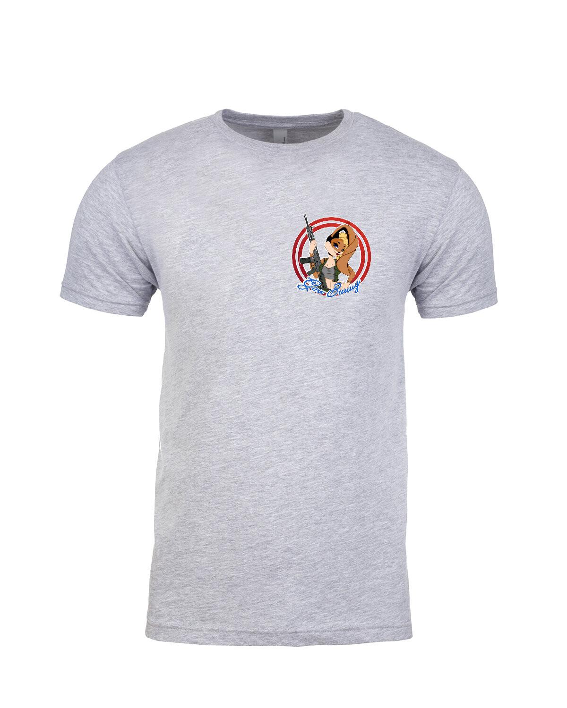Gun Bunny - Girl - Men's T-Shirt