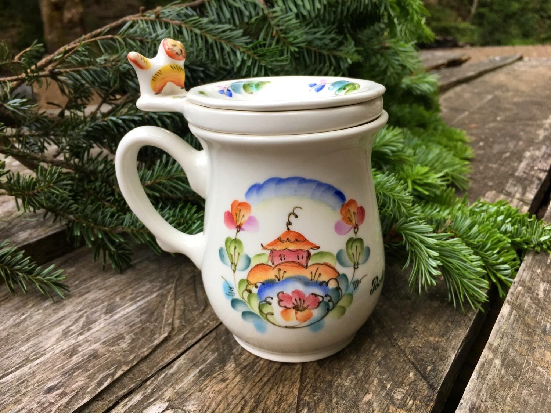 お茶用マグカップ(ねこ)0001