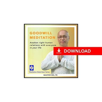 Goodwill Meditation (download)