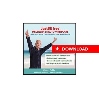 JustBE free Meditatia de Auto-Vindecare (download)