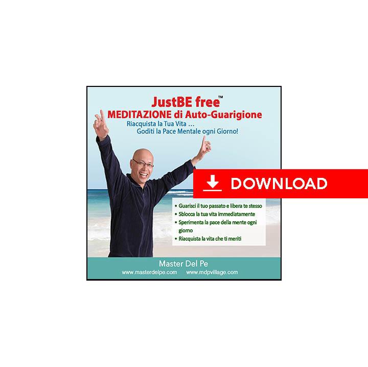 JustBE free Meditazione di Auto-Guarigione (download)