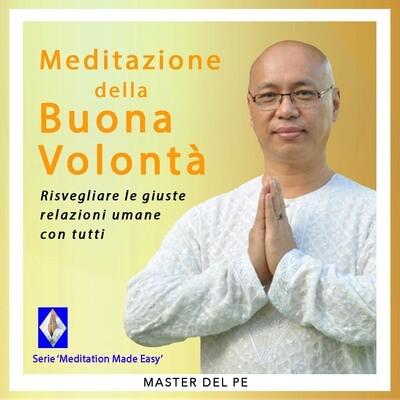 Meditazione della Buona Volontà (download)
