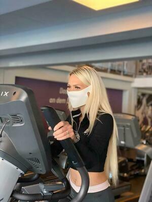 Einweg Schutzmasken speziell für Fitnesstraining