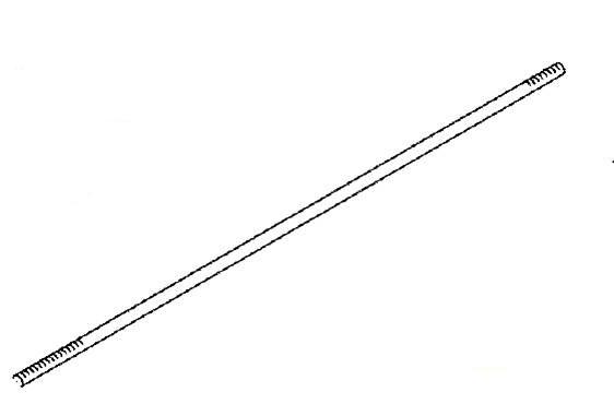 Buderus sidr.šipka M16X2270