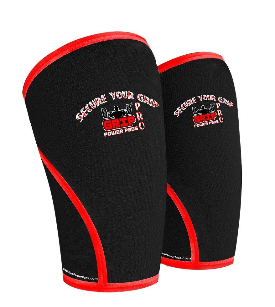 Knee Sleeves (1 pair), 7mm Neoprene Thick Compression Knee Braces Strong Support for Heavy-lifting, Squats, Gym & Other Sports Knee Pain