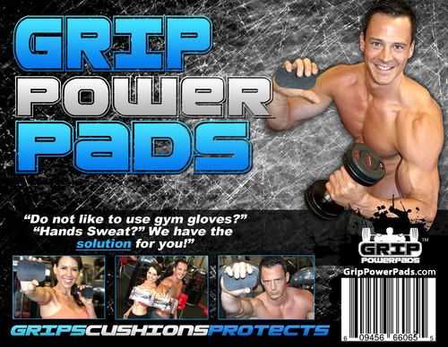 8 Pairs of Classic GRIP POWER PADS