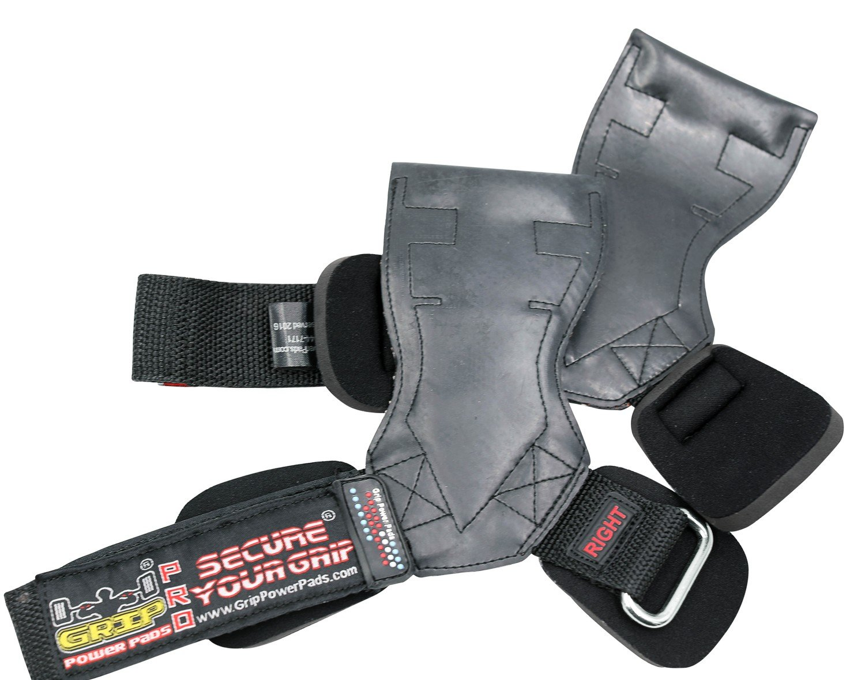Lifting Straps Gloves PRO Weight Grips Heavy Duty Straps Alternative to Power Hooks Deadlifts Adjustable Neoprene Padded Wrist Wrap