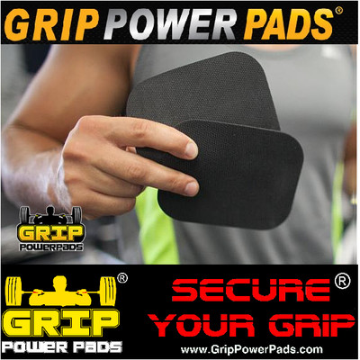 Classic GRIP POWER PADS Rubber Lifting Grips