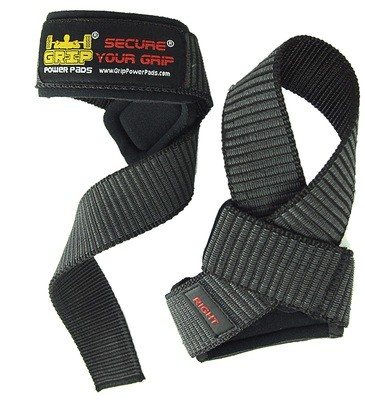 Deluxe Classic Heavy Duty Neoprene Padded Weight Lifting Straps