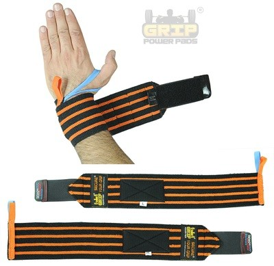 Deluxe Wrist Wraps 18 Inches Long (1 Pair/2 Wraps)