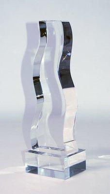Silver Crystal Trophy