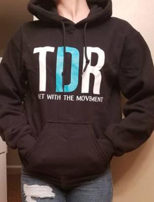 TDR Logo Hoodie (Black)