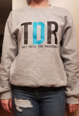 TDR Logo Crewneck (Gray)