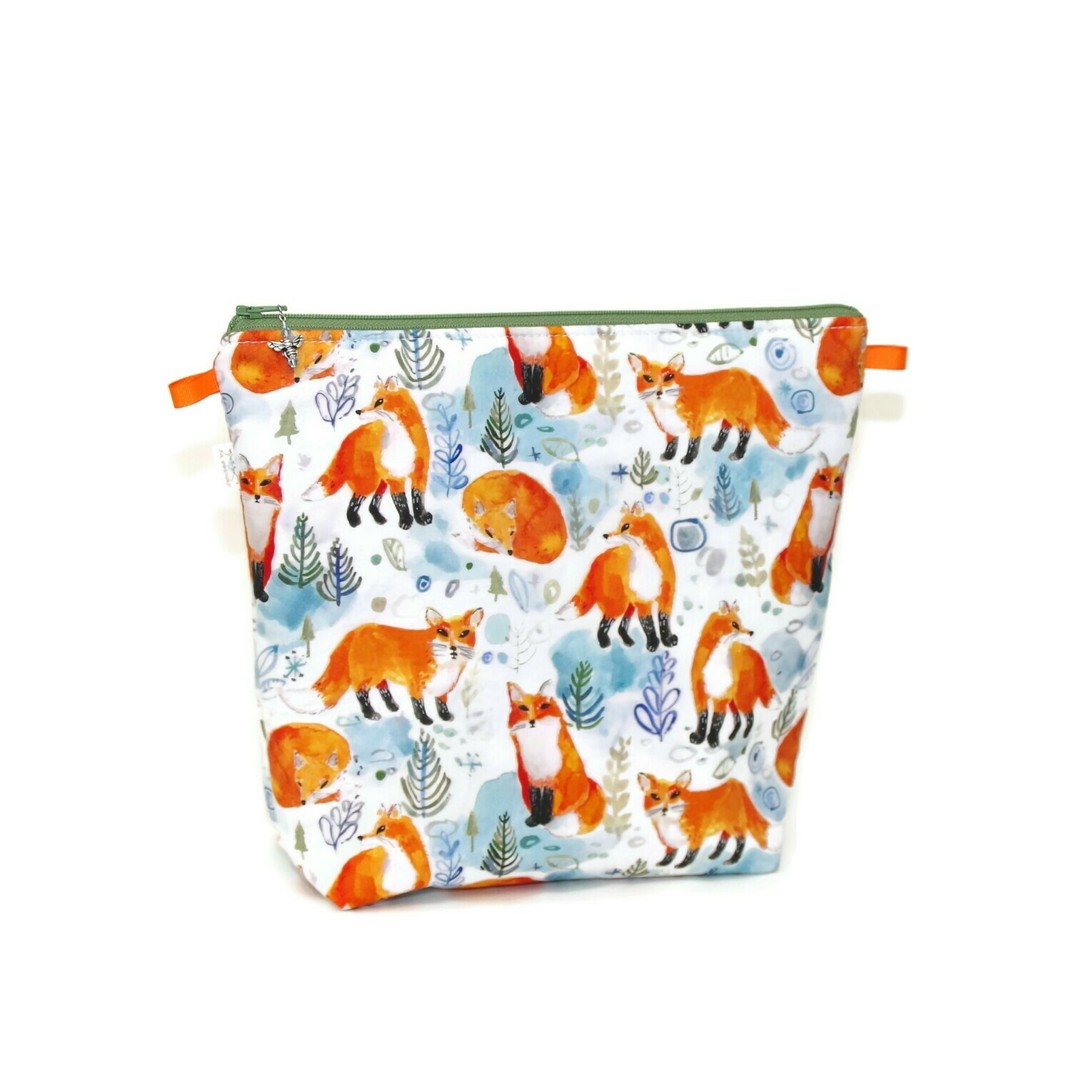Winter Foxes - Tall Wedge