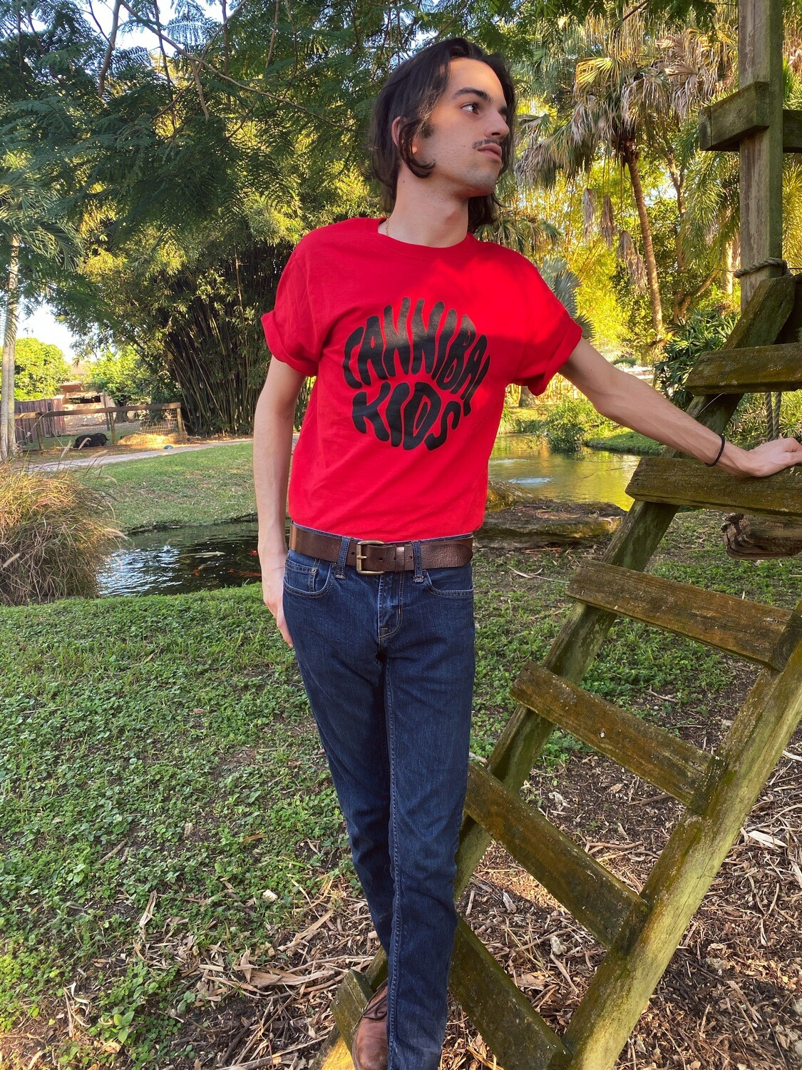 Red CK Tee