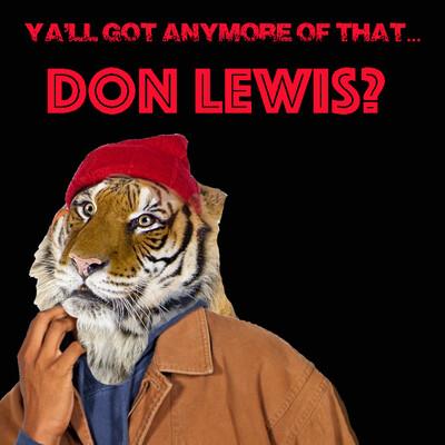 DON LEWIS SHIRT