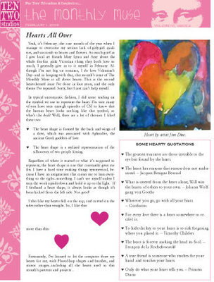 February – Hearts All Over