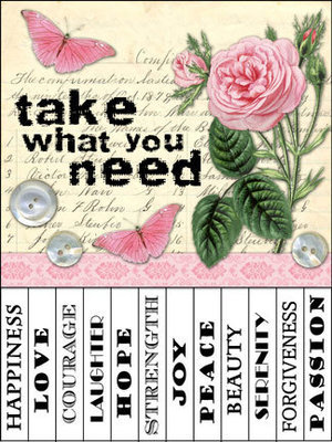 Take What You Need Signs