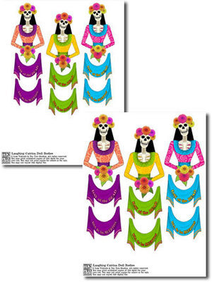 Laughing Catrina Doll Bodies