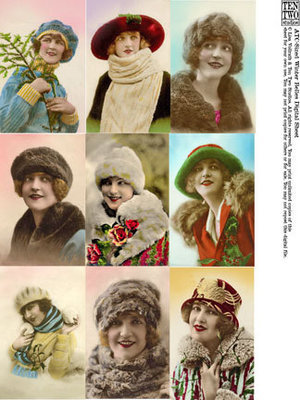 ATC-Sized Winter Belles