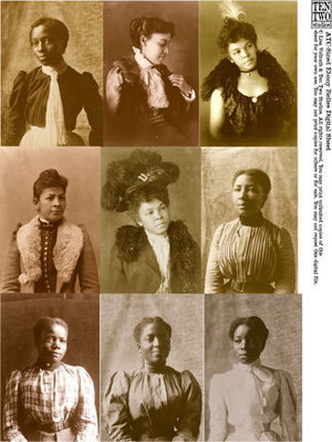 ATC-Sized Ebony Belles