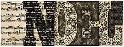 Vintage NOEL Letter Book