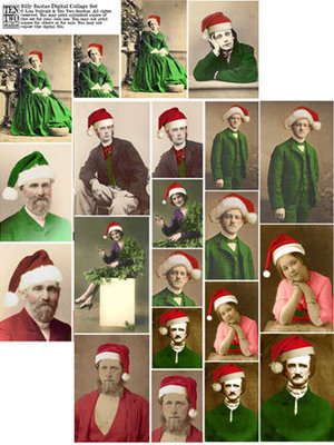 Silly Santas