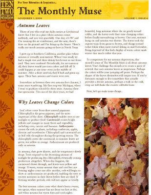November – Autumn Leaves