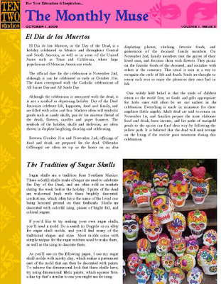 October – Day of the Dead