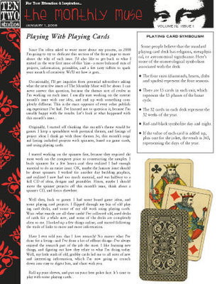 January – Playing With Cards
