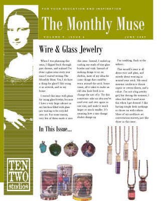 June – Wire & Glass Jewelry