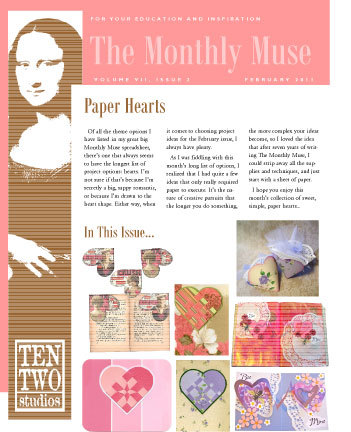 February – Paper Hearts