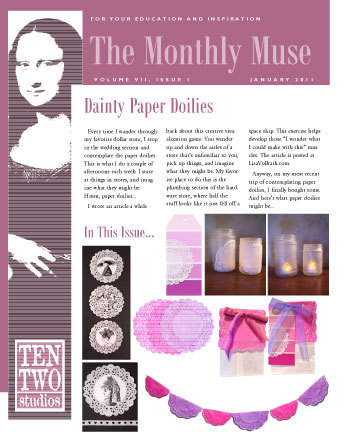 January – Dainty Paper Doilies