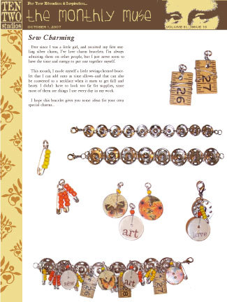 October – Sew Charming
