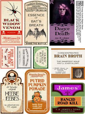 Creepy Labels