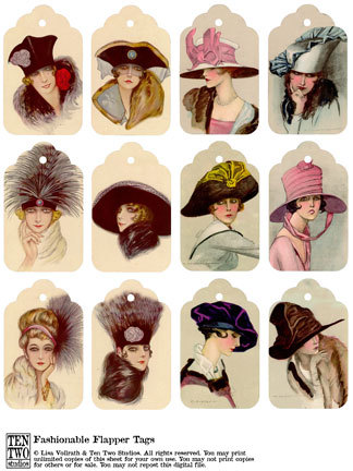 Fashionable Flappers