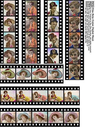Film Strip Cuties