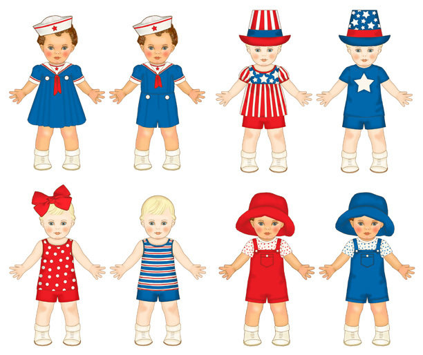 Twins Red, White & Blue Add-On Sheet