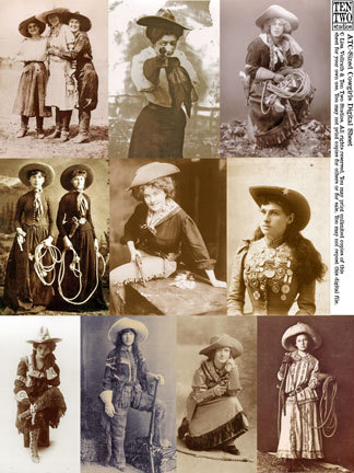 ATC-Sized Cowgirls