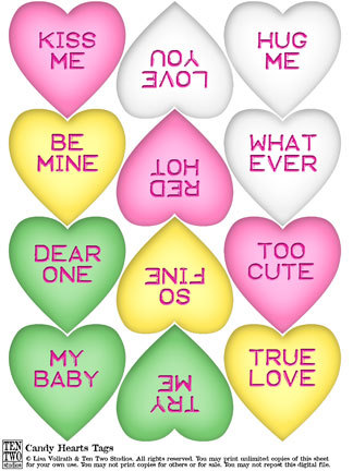 Candy Hearts