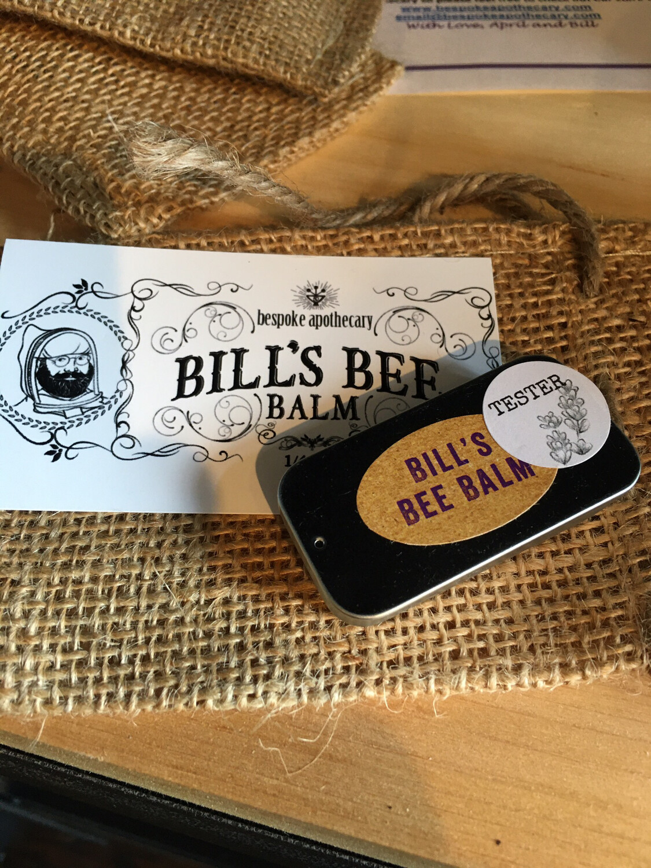 Bill's Bee (lip) Balm - NEW SLIDER TIN!