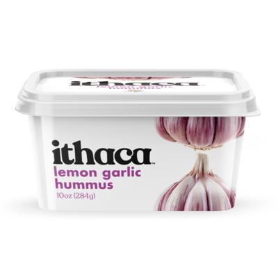 Ithaca Hummus lemon garlic hummus 10oz 284g
