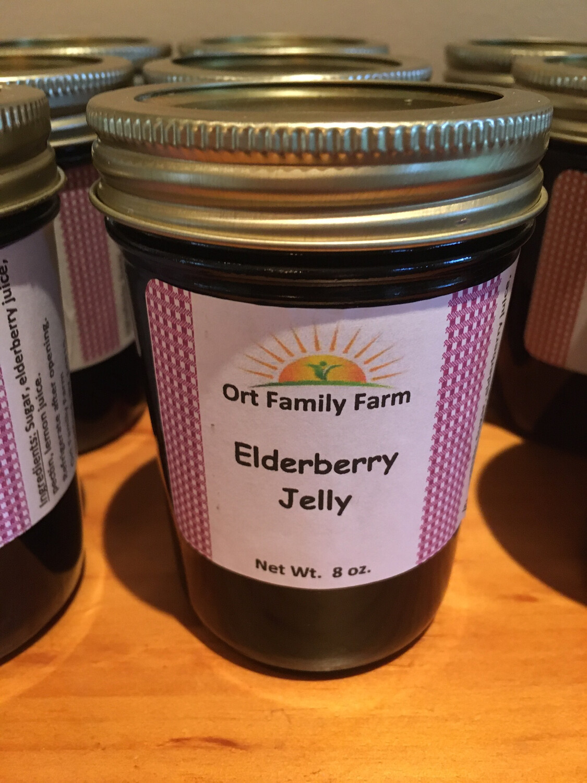 Elderberry Jelly 8 oz