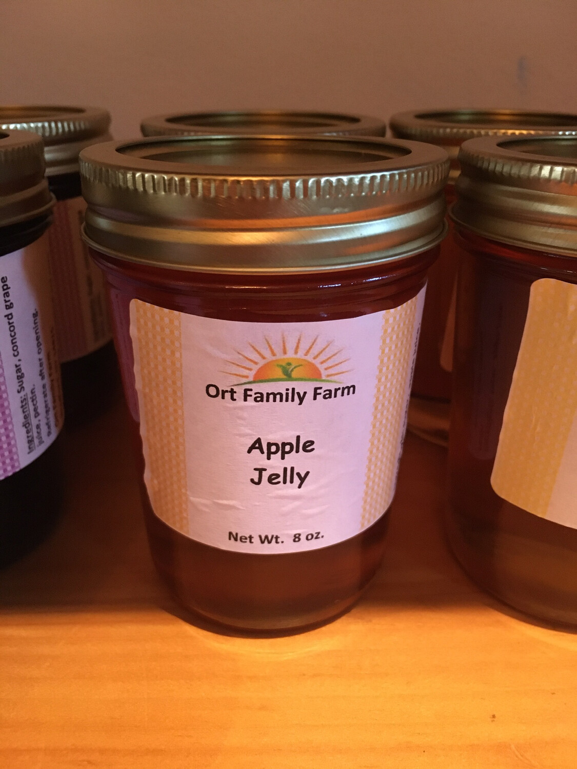 Apple Jelly 8 oz