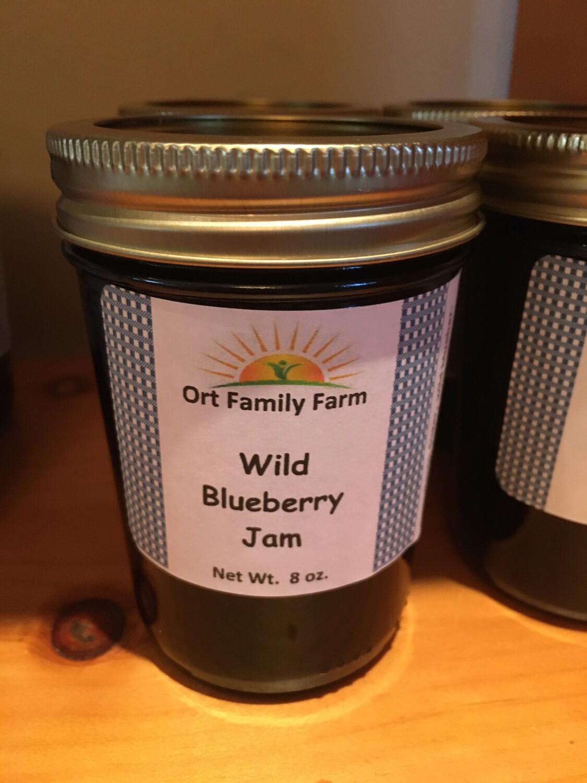 Wild Blueberry Jam 8 oz